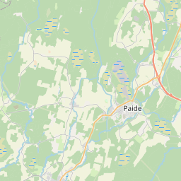 Map of Paide
