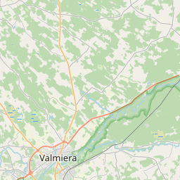 Map of Valmiera