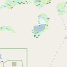 Map of Orapa