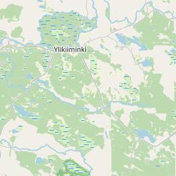 Map of Oulu