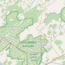 Map of Madona