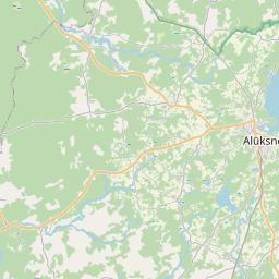 Map of Gulbene