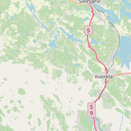 Map of Kuopio