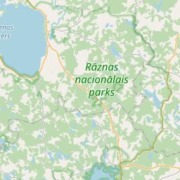 Map of Ludza