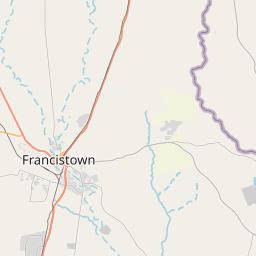 Map of Francistown