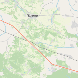 Map of Zhytomyr