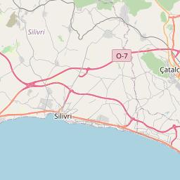 Map of Sultangazi