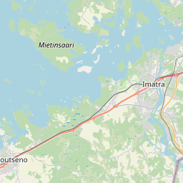 Map of Lappeenranta