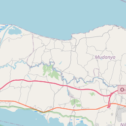 Map of Bursa