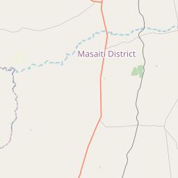 Map of Ndola
