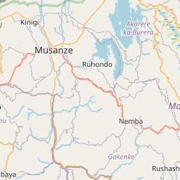 Map of Kabale