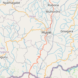 Map of Butare