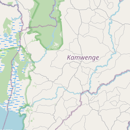 Map of Kasese