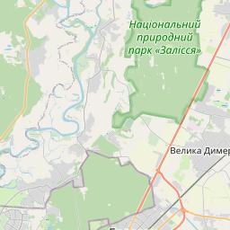 Map of Kiev
