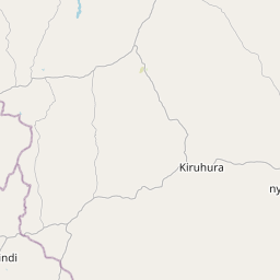 Map of Mbarara