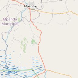 Map of Mpanda