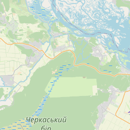 Map of Cherkasy