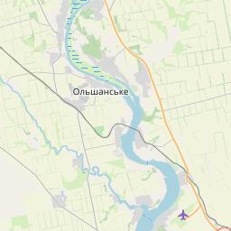 Map of Mykolayiv