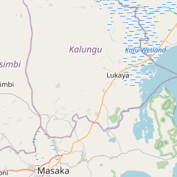 Map of Masaka