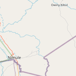 Map of Adjumani