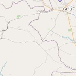 Map of Gulu