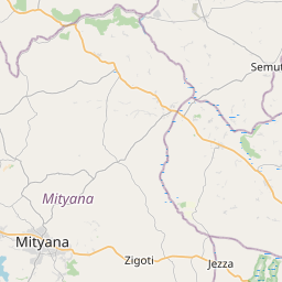 Map of Mityana