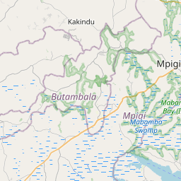 Map of Entebbe