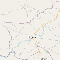 Map of Kitgum