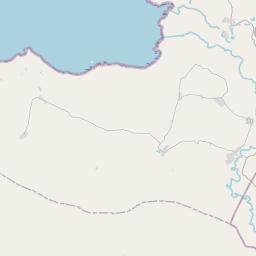 Map of Mbeya