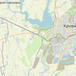 Map of Kryvyi