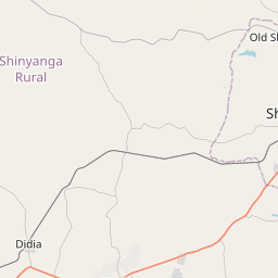 Map of Shinyanga