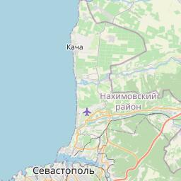 Map of Sevastopol