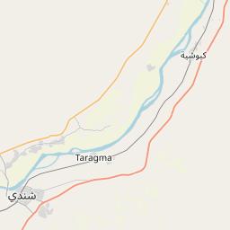Map of Shendi