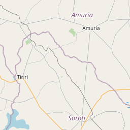 Map of Soroti