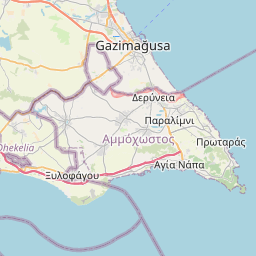 Map of Famagusta