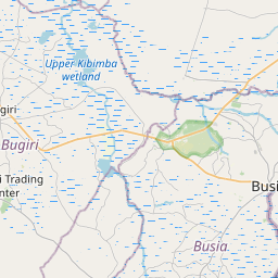 Map of Lugulu