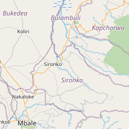 Map of Mbale