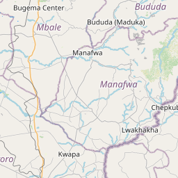 Map of Tororo
