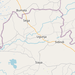 Map of Bungoma