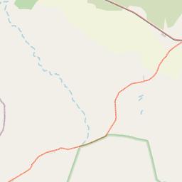Map of Singida