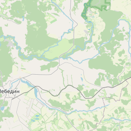 Map of Sumy