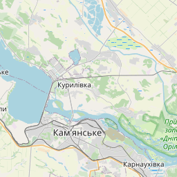 Map of Dnipropetrovsk