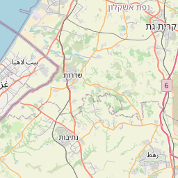 Map of Ashdod