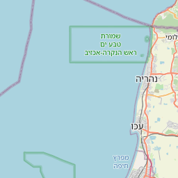 Map of Nahariya
