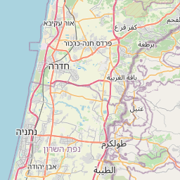 Map of Netanya