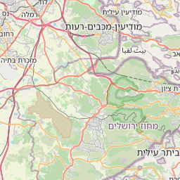 Map of Ashqelon