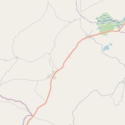 Map of Makumbako