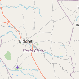 Map of Eldoret