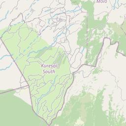 Map of Kericho
