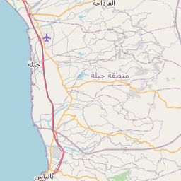 Map of Jablah
